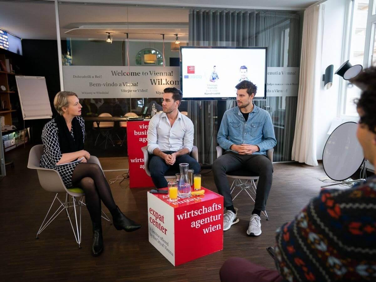 konsultori fireside chat copyright Vienna Business Agency / David Bohmann