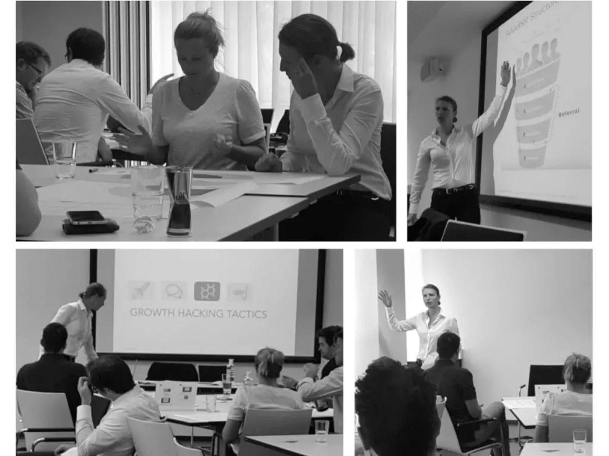 Scale-up Workshop Growth Hacking by konsultori, Copyright konsultori.
