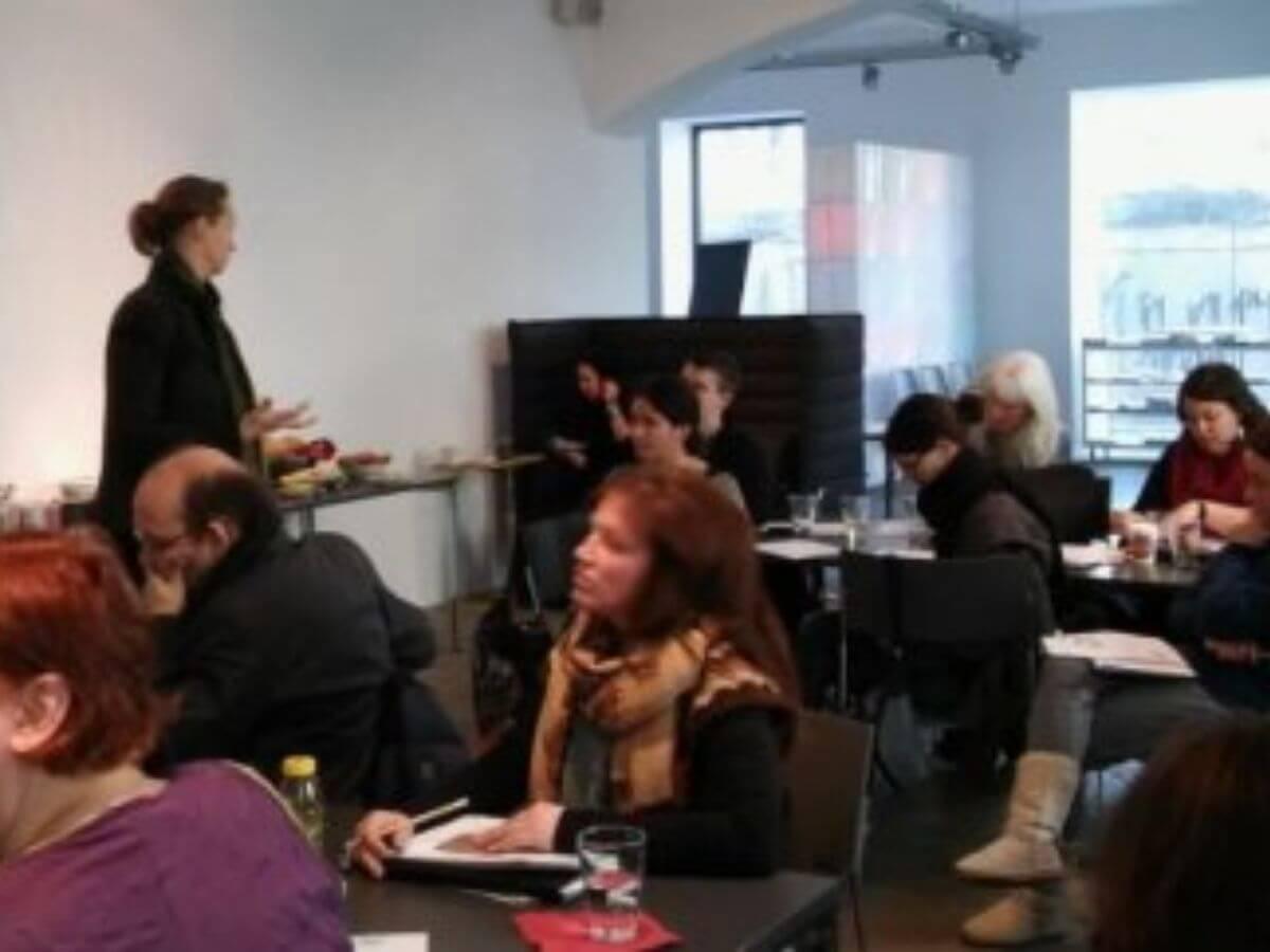 Kundengewinnung Workshop: konsultori at workshop on und offline Kundengewinnung copyright gruene wirtschaft