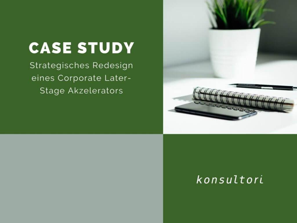 Case Studies Strategisches Redesign