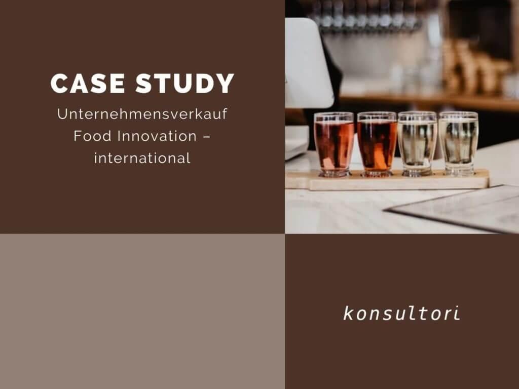 Case Studies Unternehmensverkauf Food