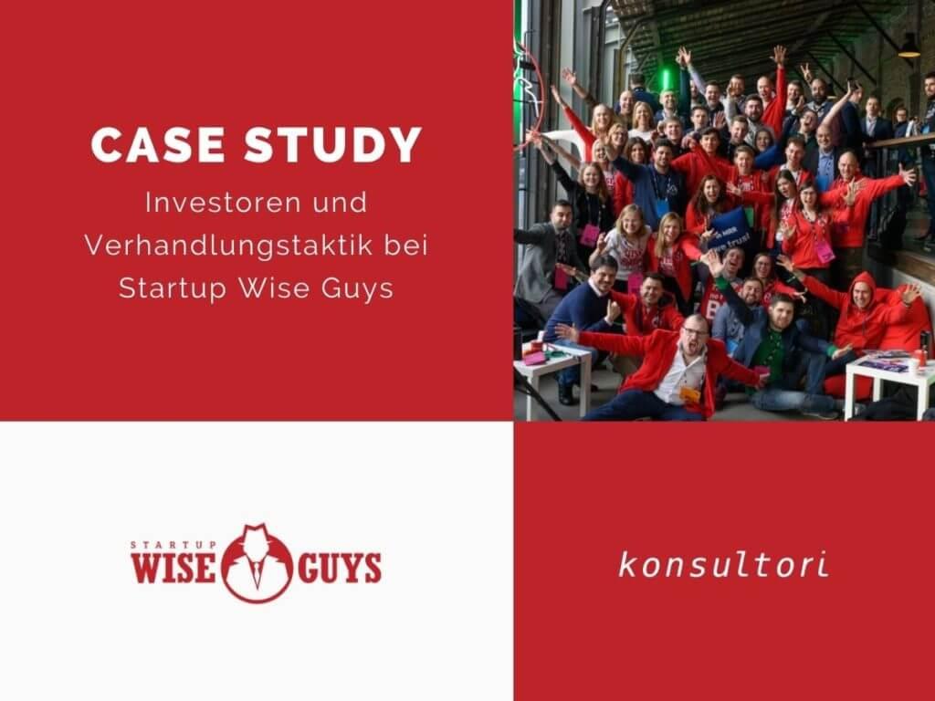Case Studies Startup Wise Guys