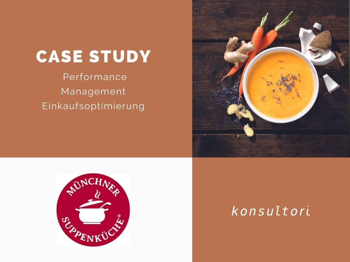 Beratung & Begleitung Performance Management Einkaufsoptimierung konsultori © Münchner Suppenküche